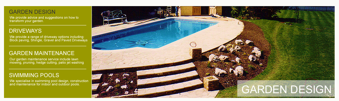 Swimming Pool Landscape Design